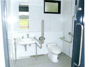 ユニットトイレ 内部