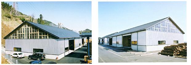 木造トラス工場